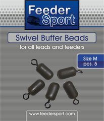 Бусина буферная Feedersport Swivel Buffer Beads M